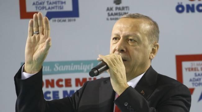 Cumhurbaşkanı Erdoğan Samsunlularla buluşacak