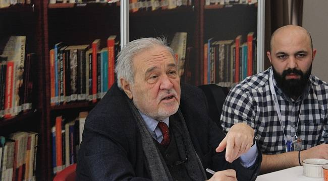İlber Ortaylı, Karadeniz Kitap Fuarı'na katıldı