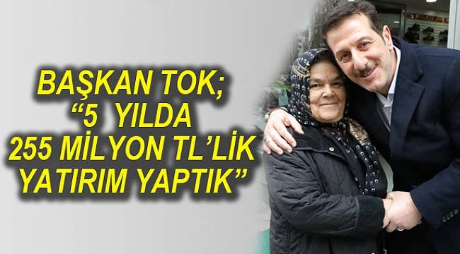 """""""İLKADIM'A 5 YILDA TARİHİNDE GÖRÜLMEYEN YATIRIMLAR KAZANDIRDIK."""""""