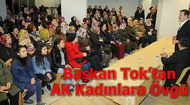 İlkadım'da AK Kadınlar Tam Kadro Sahada