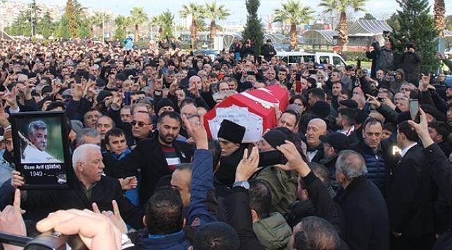 Samsun'da Ozan Arif'i on binler uğurladı