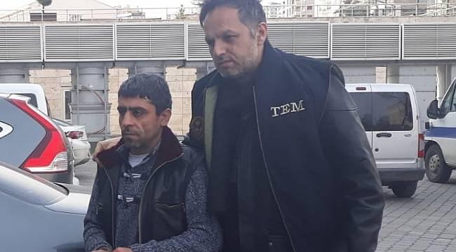 Samsun'da terör örgütü Hizbullah hükümlüsü yakalandı