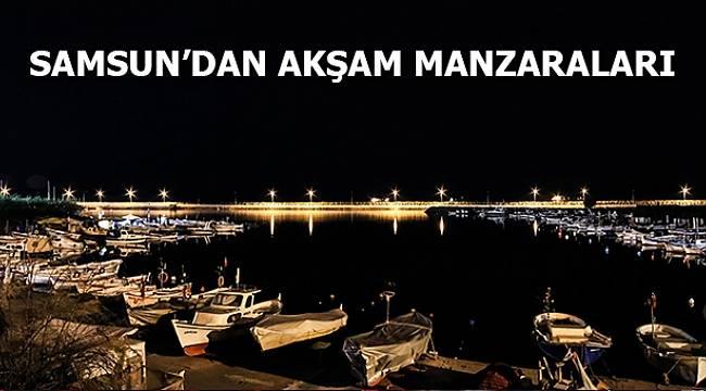 Samsun'dan akşam manzaraları