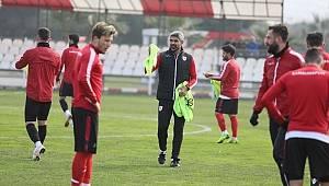 Samsunspor hazırlıklarını sürdürüyor