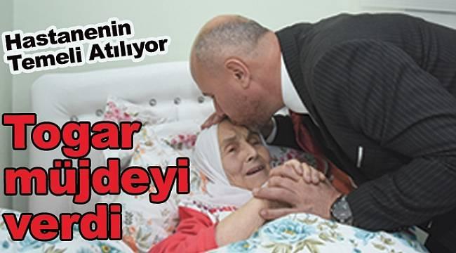 Tekkeköy Devlet Hastanesi'nin temeli atılıyor