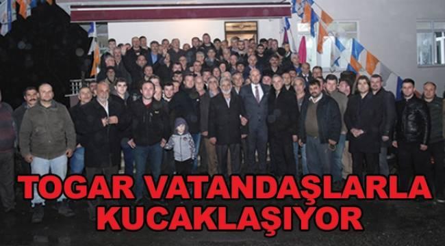 Togar: Tekkeköy'ü birlikte yönetmeye devam edeceğiz