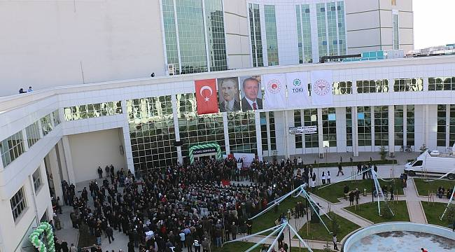 Çarşamba Devlet Hastanesi açıldı