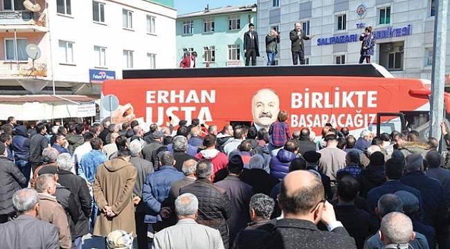 Erhan Usta merkez SKM'yi törenle açacak