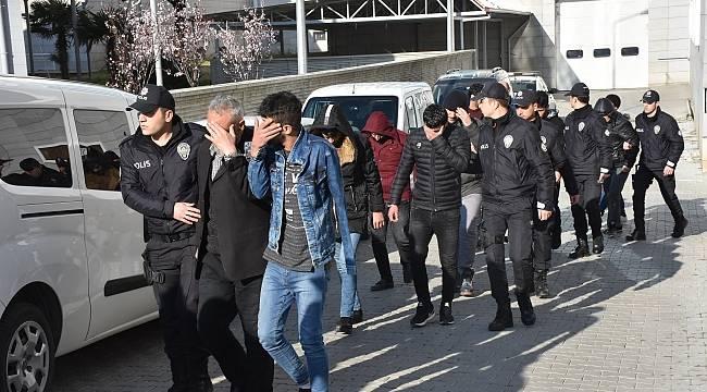 Samsun'daki DEAŞ operasyonu: 24 gözaltı