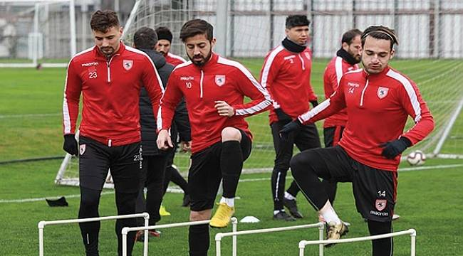 Samsunspor'da Bayrampaşa mesaisi sürüyor