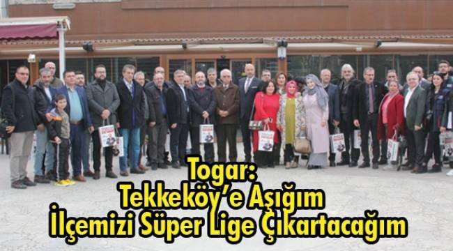 Togar projelerini tanıttı