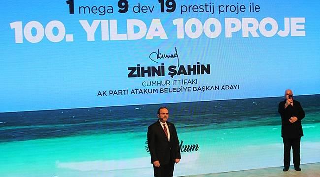 Zihni Şahin'den 100. Yıla 100 Proje