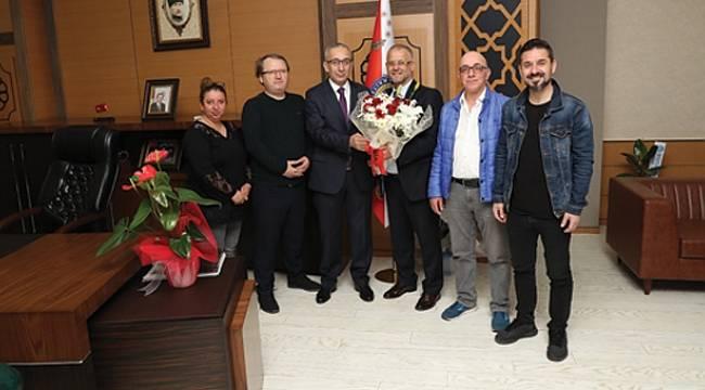 19 Mayıs Gazeteciler Cemiyeti'nden Emniyet Müdürü'ne ziyaret