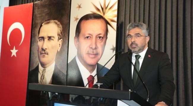 AK Parti'den başkanlara bilgilendirme toplantısı