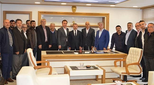 AK Parti Teşkilatından Özdemir'e ziyaret