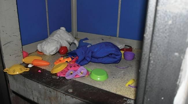 Asansöre sıkışan 5 yaşındaki Buğlem Samsun'da tedavi altına alındı