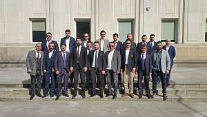 Bafralı genç işadamlarından Polonya'ya iş ziyareti