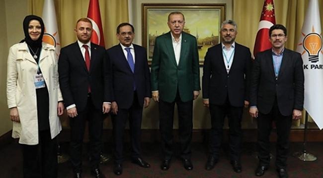 Başkan Aksu'dan Erdoğan'a seçim raporu