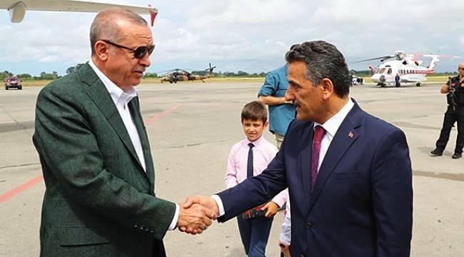 Kaymak, Erdoğan'a teşekkür etti