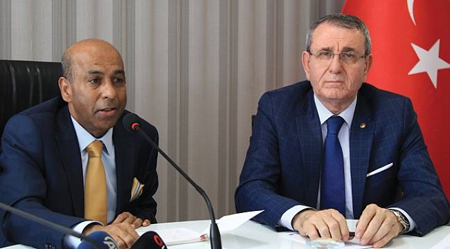 Murzioğlu, Sri Lanka Büyükelçisi'ni ağırladı