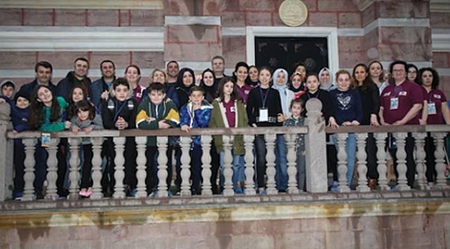 Romanyalı öğrenciler Atakum'a hayran kaldı