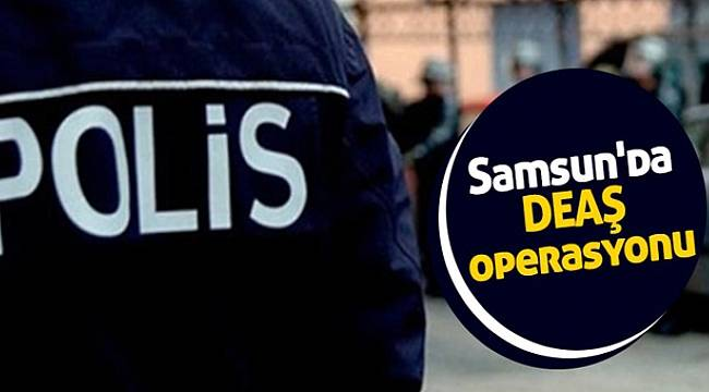 Samsun'da Irak uyruklu 8 şüpheli gözaltına alındı