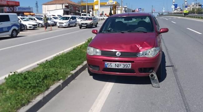 Samsun'da otomobilin çarptığı kişi hayatını kaybetti