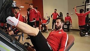 Samsunspor, Uşakspor hazırlıklarını sürdürdü