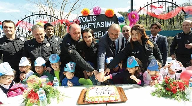 Sandıkçı, Türk Polis Teşkilatı'nın 174. yılını kutladı