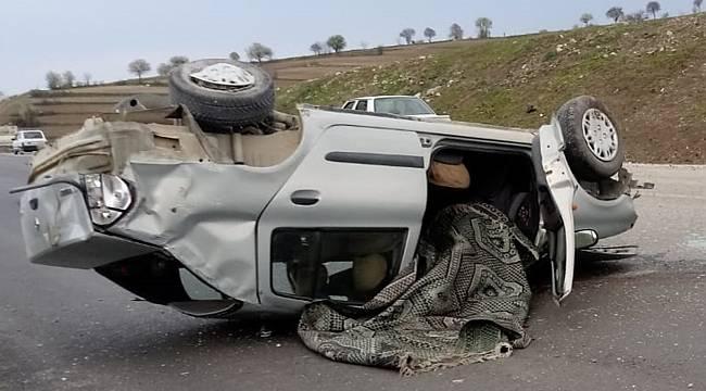 Vezirköprü'de trafik kazası: 1 ölü, 3 yaralı