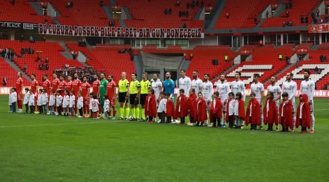 Yılport Samsunspor - Utaş Uşakspor A.Ş.: 4 -0