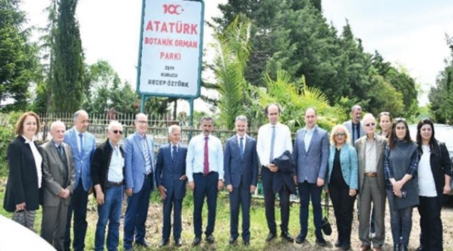 100. Yıl Atatürk Botanik Parkı açıldı