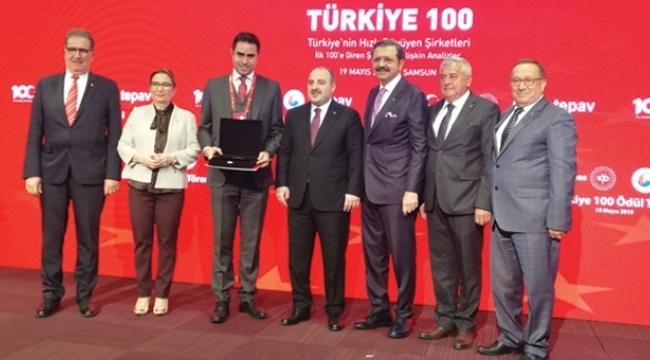 100. yılda en hızlı büyüyen 100 şirket Samsun'da açıklandı