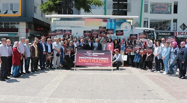 AK Parti, 27 Mayıs Darbesi'nin 59. yılında Menderes'i andı