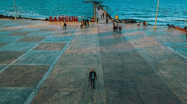 Atakum'da dev ekran play-off heyecanı