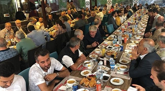 Balkan Türkleri iftarda buulştu