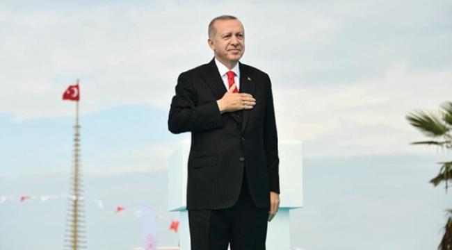 Erdoğan Samsun'da gençlerden söz aldı