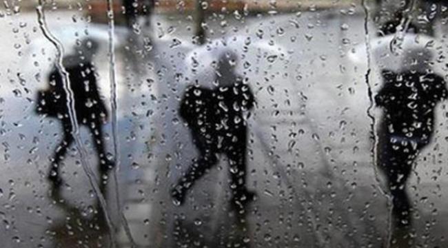 Öğleden sonra sağanak yağış geliyor