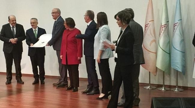 OMÜ'ye 'Engelsiz Üniversite' Ödülü