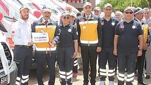 Sağlık Bakanlığı'ndan Samsun'a 10 yeni ambulans