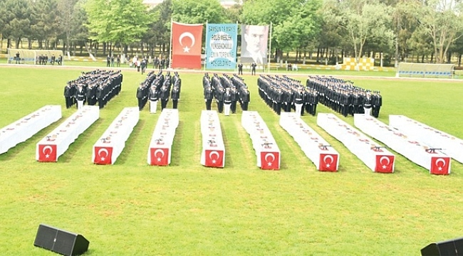 Samsun'da 343 polis mezun oldu