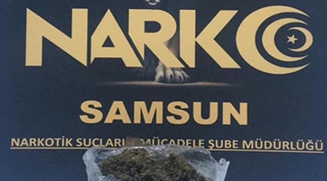 Samsun'da uyuşturucu operasyonları: 6 gözaltı