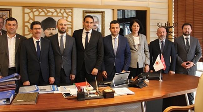 SASKİ Genel Müdürü Yıldız'a ziyaret