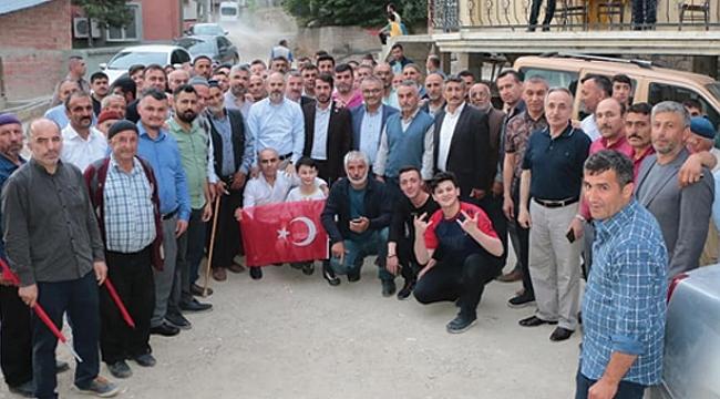 AK Parti Samsun'da gündem İstanbul seçimleri
