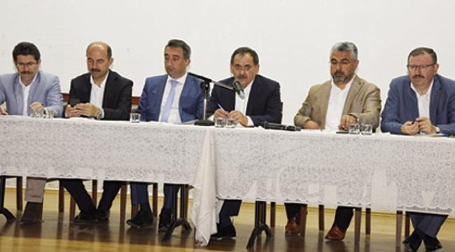 Başkan Mustafa Demir, Terme'de muhtarlarla buluştu