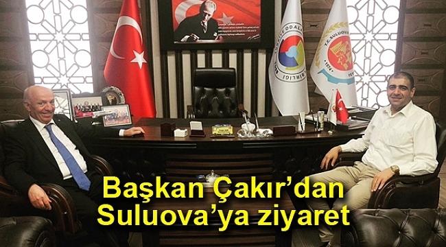Çakır'dan Suluova TSO'ya ziyaret