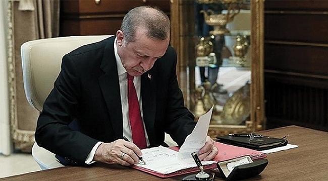 Erdoğan'ın imzasıyla yürürlüğe girdi