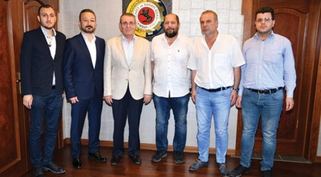 Iraklı işadamı TSO ile yatırım fırsatlarını konuştu