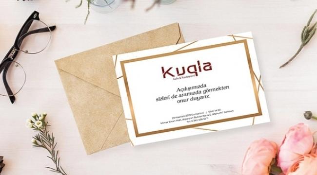 Kuqla Cafe & Restaurant Atakum'da açılıyor