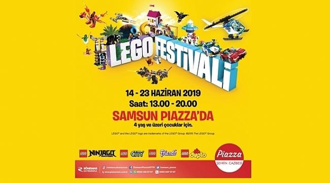 Piazza'da LEGO Festivali Başlıyor
